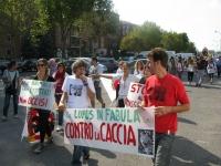 Manifestazione Nazionale Anti Caccia 2012