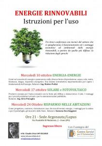 Energie rinnovabili: istruzioni per l'uso