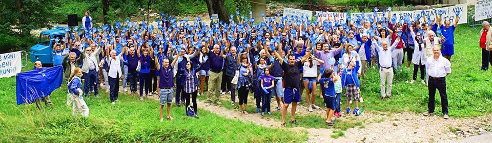 manifestazione Burano 27-07-2014