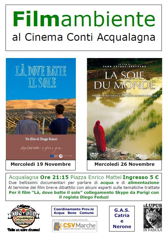 Due bellissimi documentari ad Acqualagna