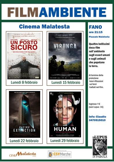 Locandina filmAmbiente 2016 light