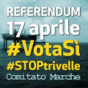 Referendum 17 Aprile: andiamo a votare e VOTIAMO SI
