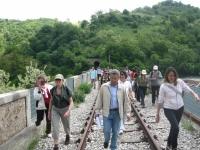 A piedi lungo la ferrovia Fano - Urbino