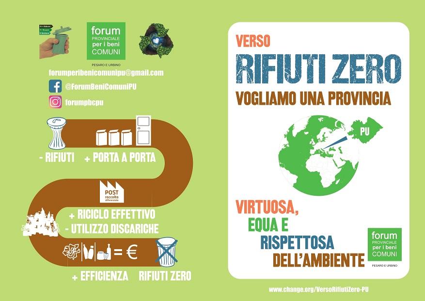 Una firma per una gestione virtuosa dei rifiuti nella nostra Provincia