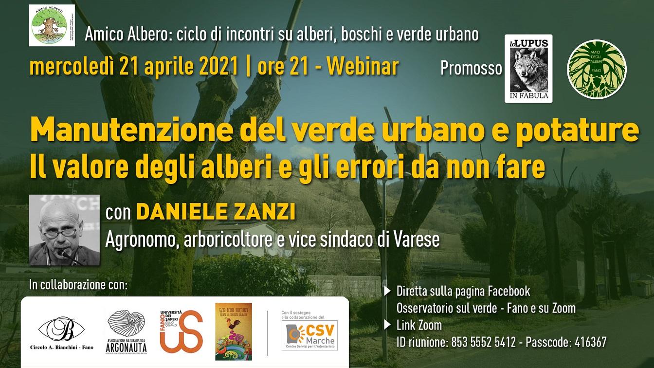 Webinar – Manutenzione del verde urbano e potature: il valore degli alberi e gli errori da non fare