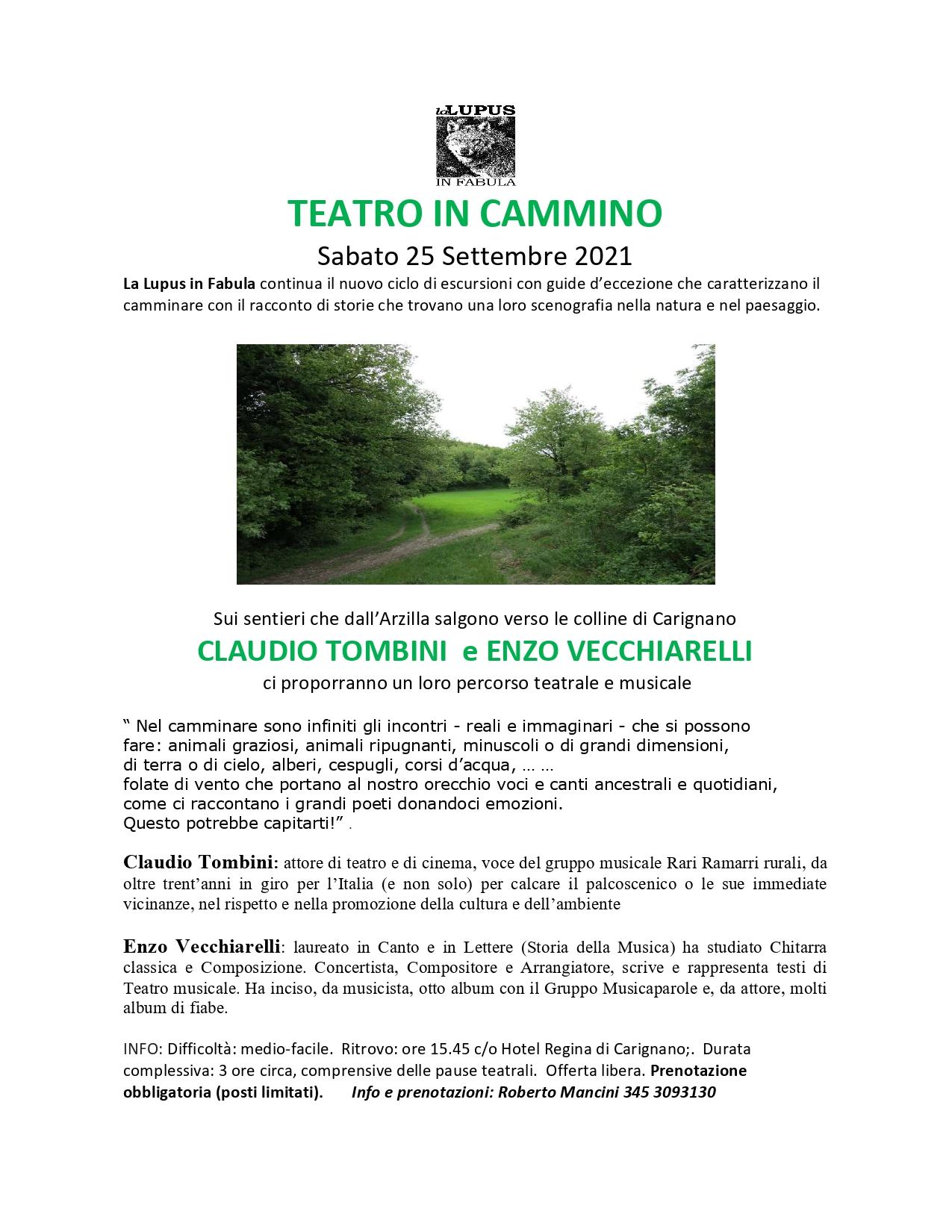 TEATRO IN CAMMINO – Carignano